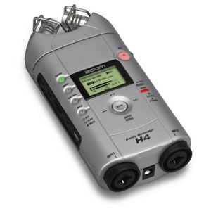 Review: Samson Zoom H4 Handy Recorder