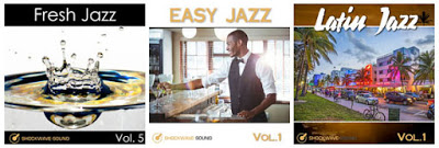 Three brand new, royalty-free Jazz music albums