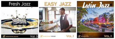 Three brand new, royalty-free Jazz music albums