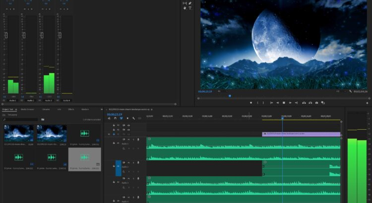 Working with stem files in Adobe Premiere Pro