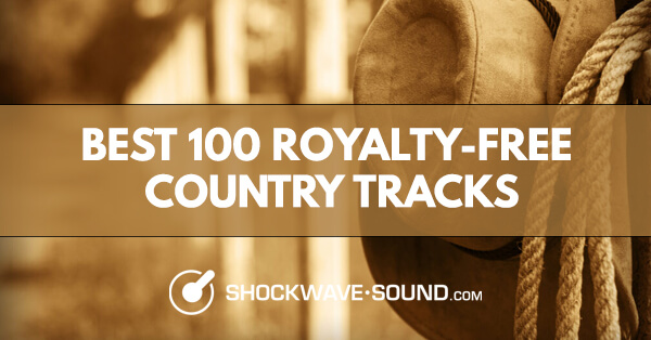 Best 100 royalty-free Country tracks as a YouTube playlist from Shockwave-Sound.com