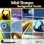 Mid-Tempo Background Tracks, Vol. 2