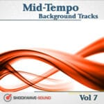 Mid-Tempo Background Tracks, Vol. 7