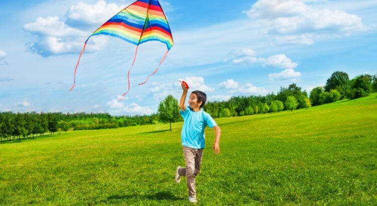 Happy Child Family Kite