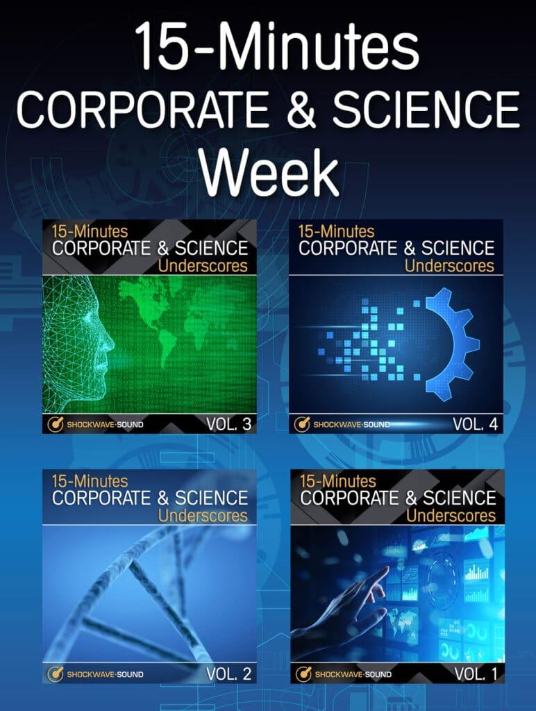 15-Minutes Corporate & Science Underscores Week