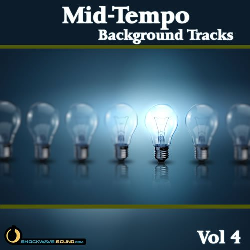 Stock Music collection Mid-Tempo Background Tracks, Vol  4