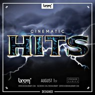Sound-FX collection: Boom Cinematic Hits: Designed