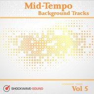 Music collection: Mid-Tempo Background Tracks, Vol. 5