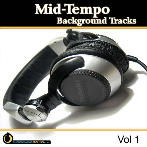 Stock Music collection Mid-Tempo Background Tracks, Vol  1