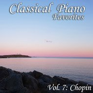 Music collection: Classical Piano Favorites, Vol. 7: Chopin