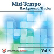 Music collection: Mid-Tempo Background Tracks, Vol. 6