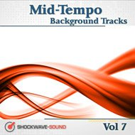 Music collection: Mid-Tempo Background Tracks, Vol. 7