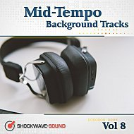Music collection: Mid-Tempo Background Tracks, Vol. 8